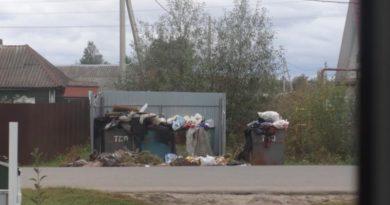 Расположенные вблизи дома контейнеры необходимо переносить
