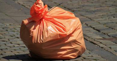 пакет с мусором
