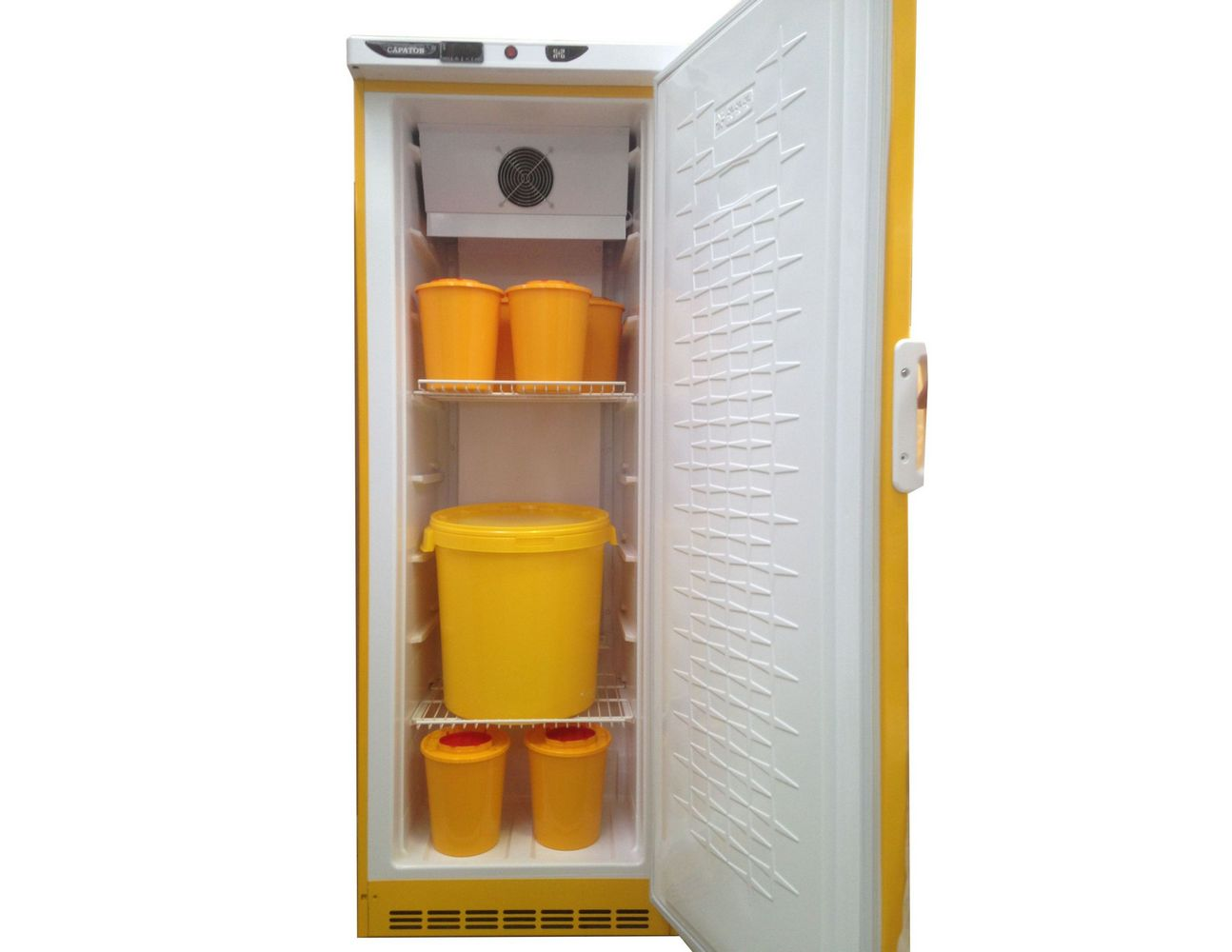 холодильник с емкостями для медотходов