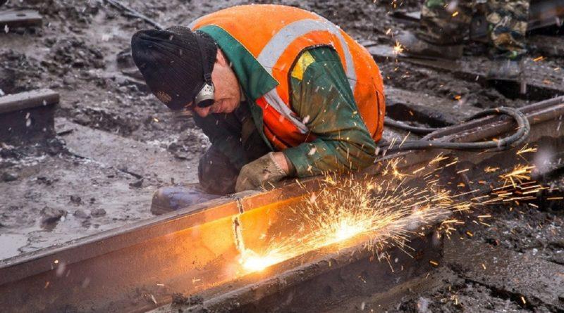 Сдача рельс в металлолом