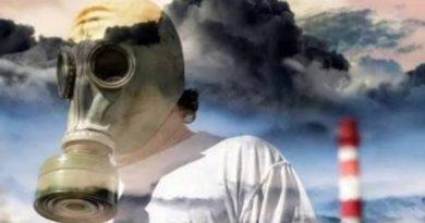 Загрязнение воздуха влияет на здоровье человека