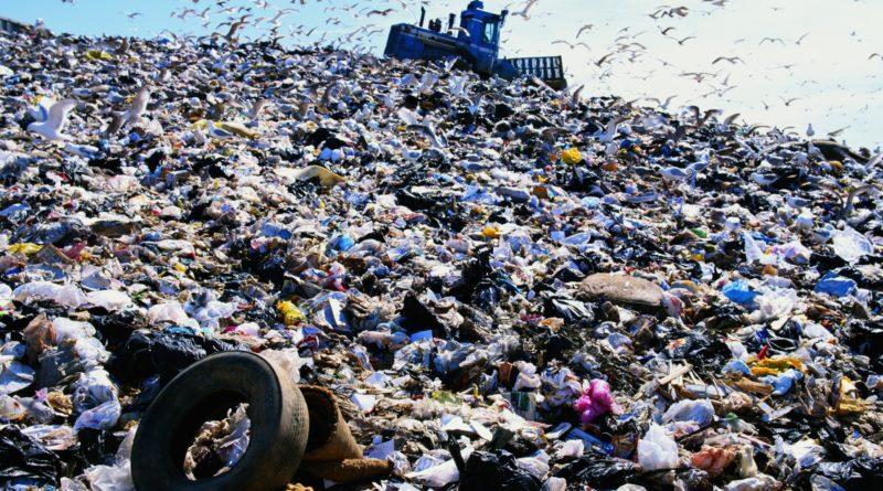 Экологические проблемы отходов в городе