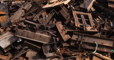 Лом черных металлов