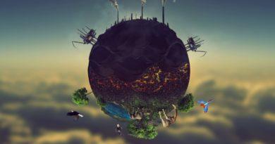 Загрязненная планета