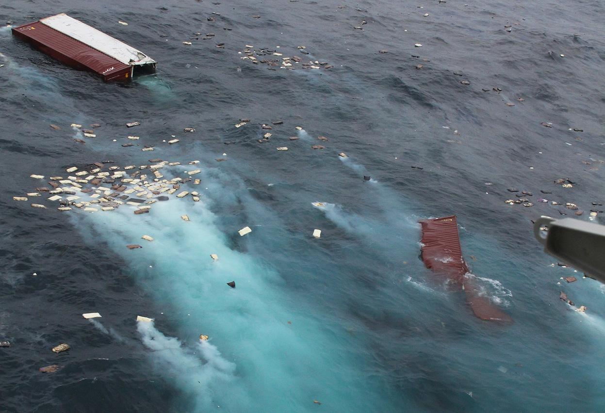 Самые загрязненные моря