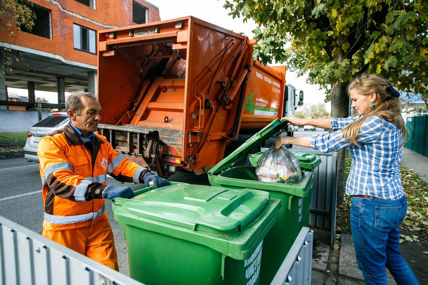 сбор и вывоз мусора