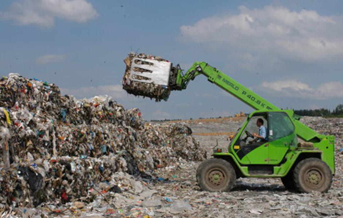 сбор, применение, уничтожение, размещение мусора
