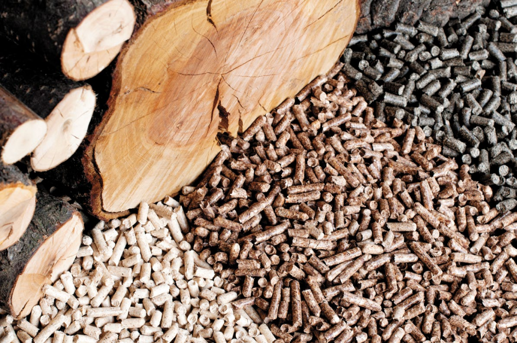 Переработка древесины в гранулы