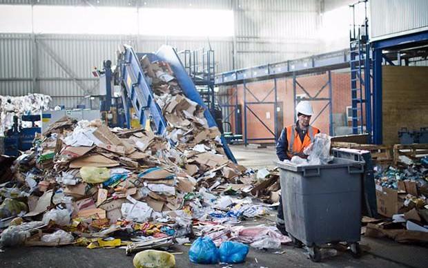 Отходы производства и потребления