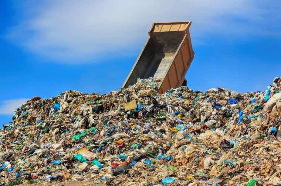 полигон для мусора картинка
