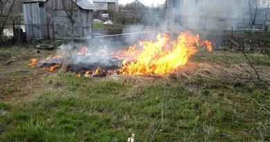Нельзя сжигать отходы вблизи дома