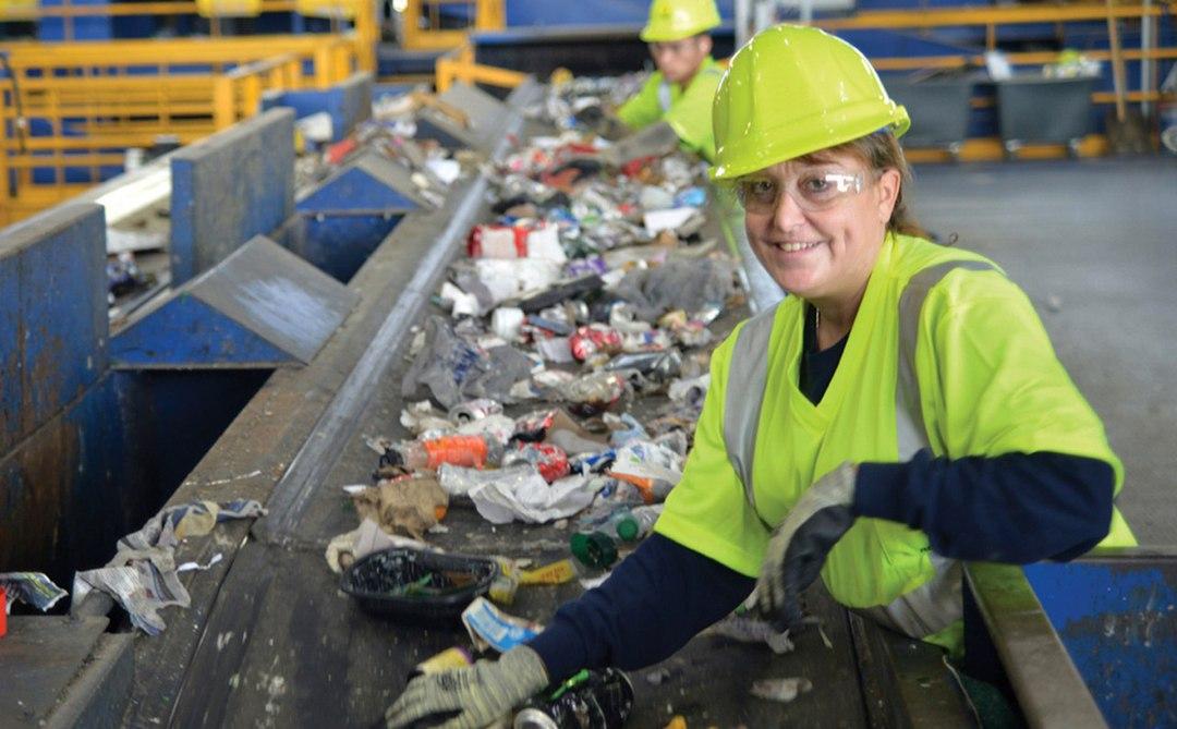 Переработка мусора в швейцарии