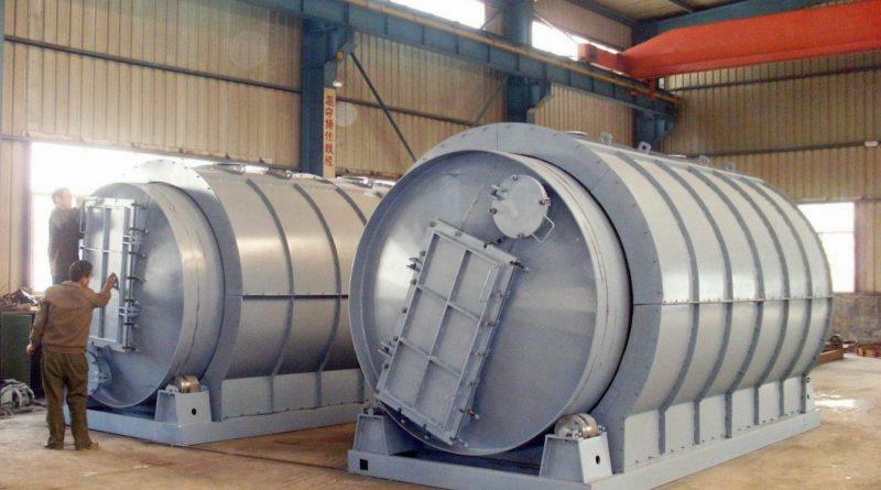 промышленный пиролиз этана