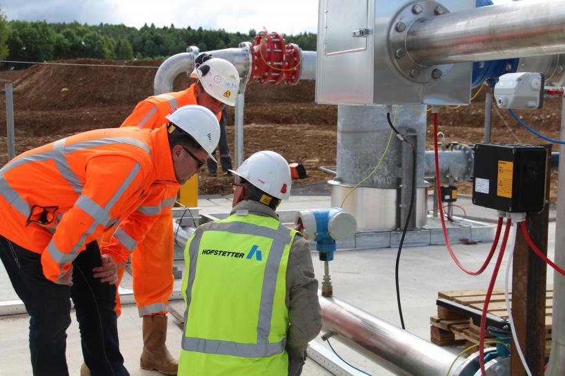 Установка по утилизации свалочного газа