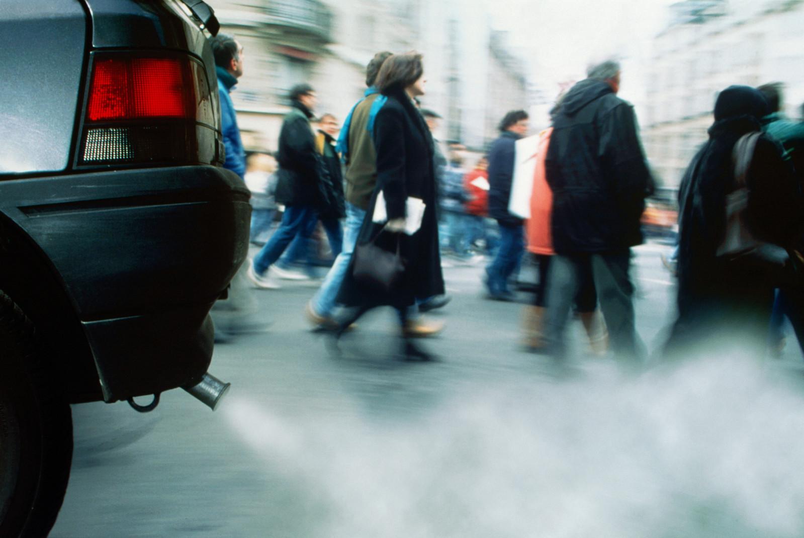 Выхлопные газы вредят природе и здоровью человека