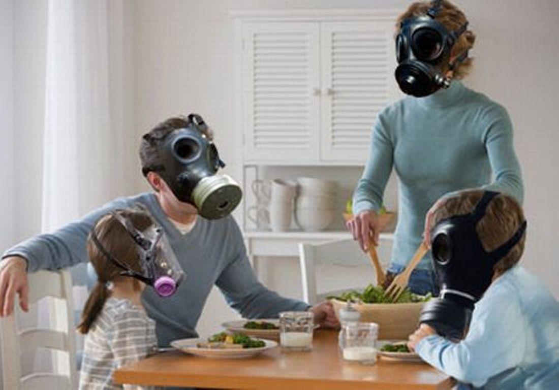 Что загрязняет воздух жилой среды?