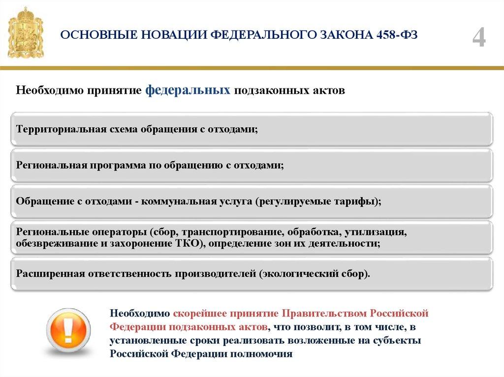 основные новации ФЗ-458