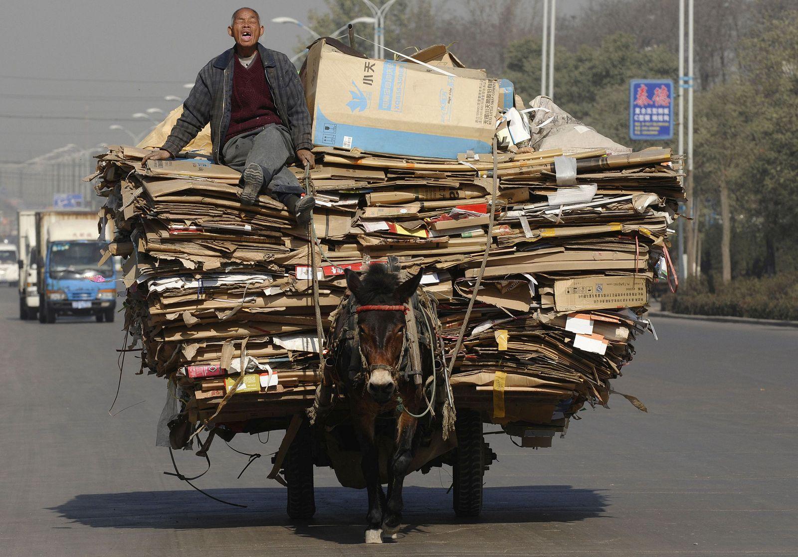 сдача макулатуры в китае