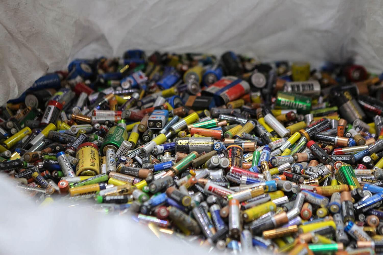 склад батареек