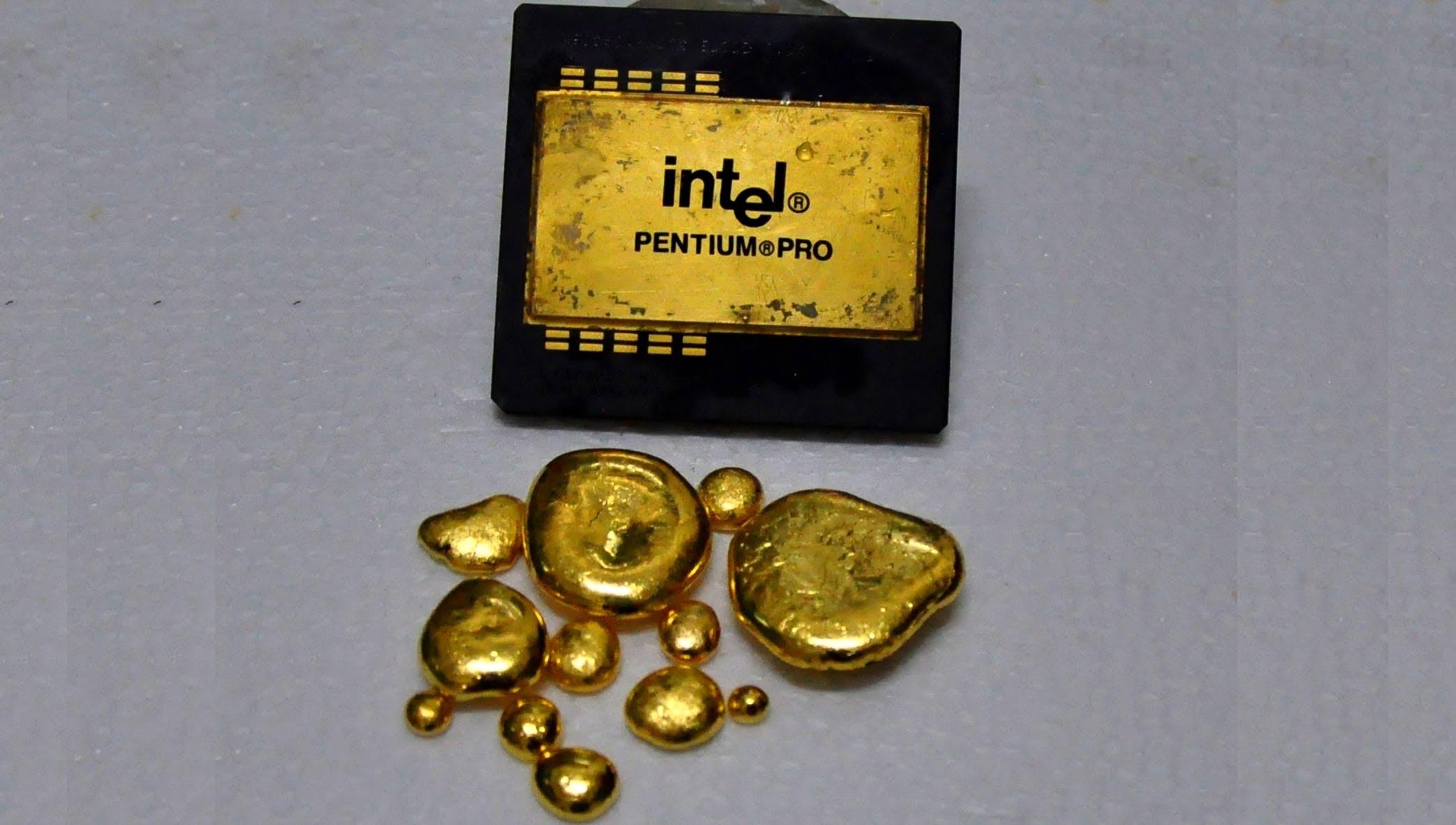 ценные металлы в радиодеталях и электронных платах