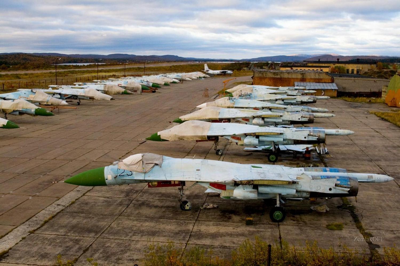 утилизационная зона самолетов