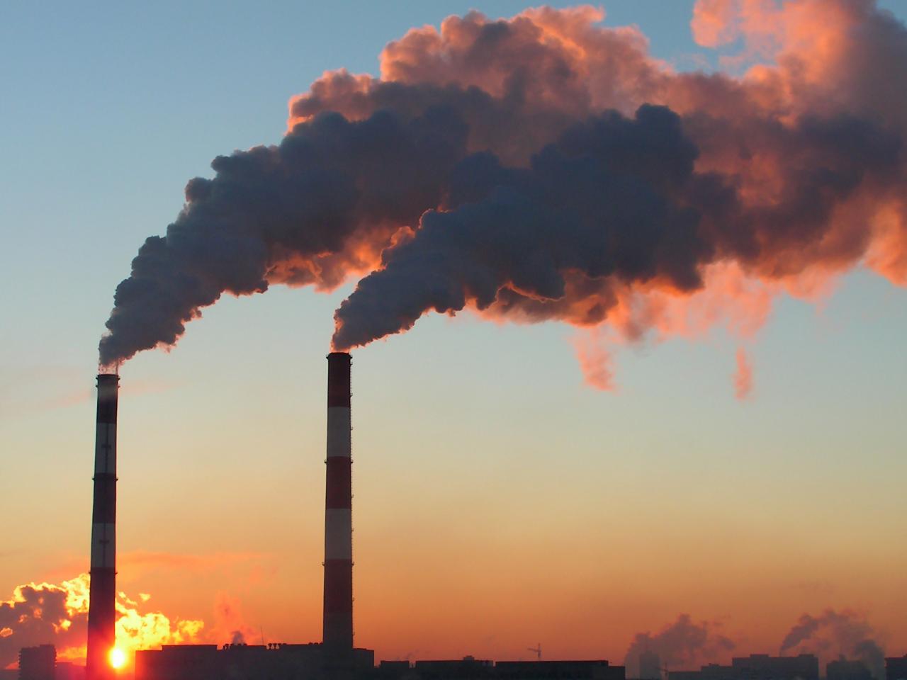 выброс вредных загрязняющих веществ в атмосферу