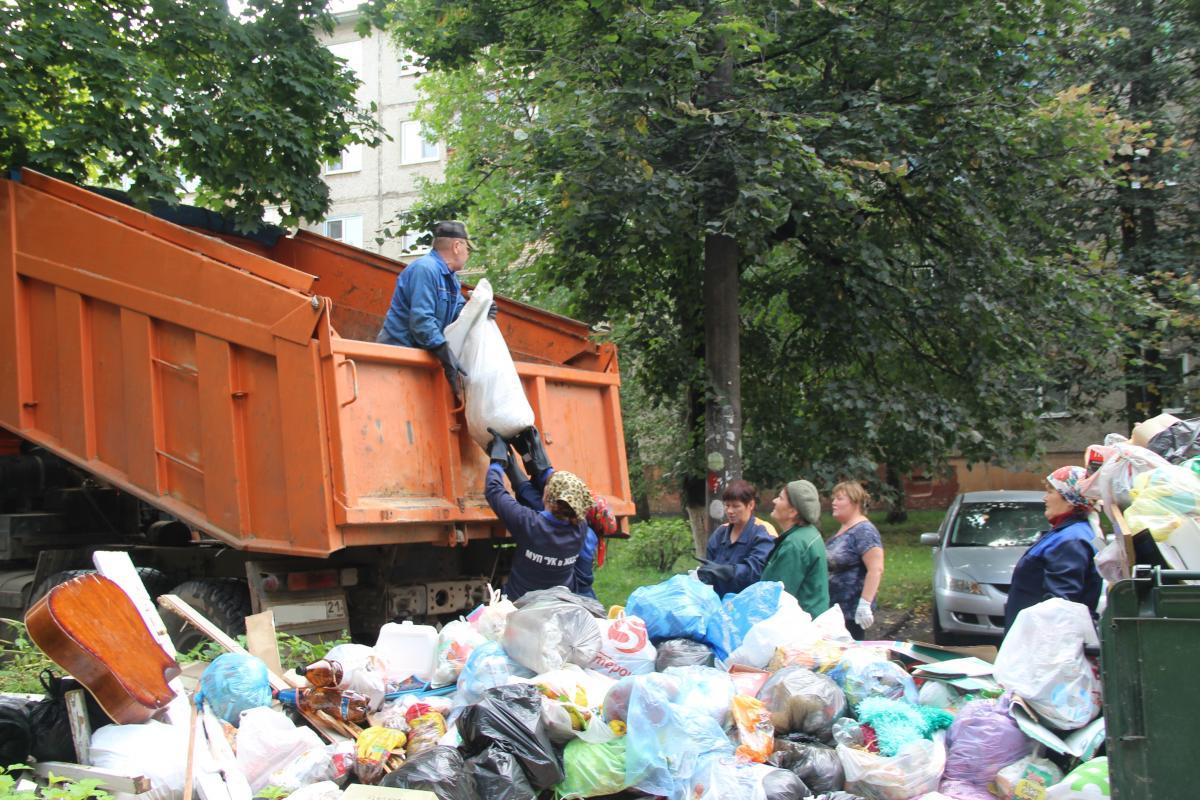 вывоз мусор