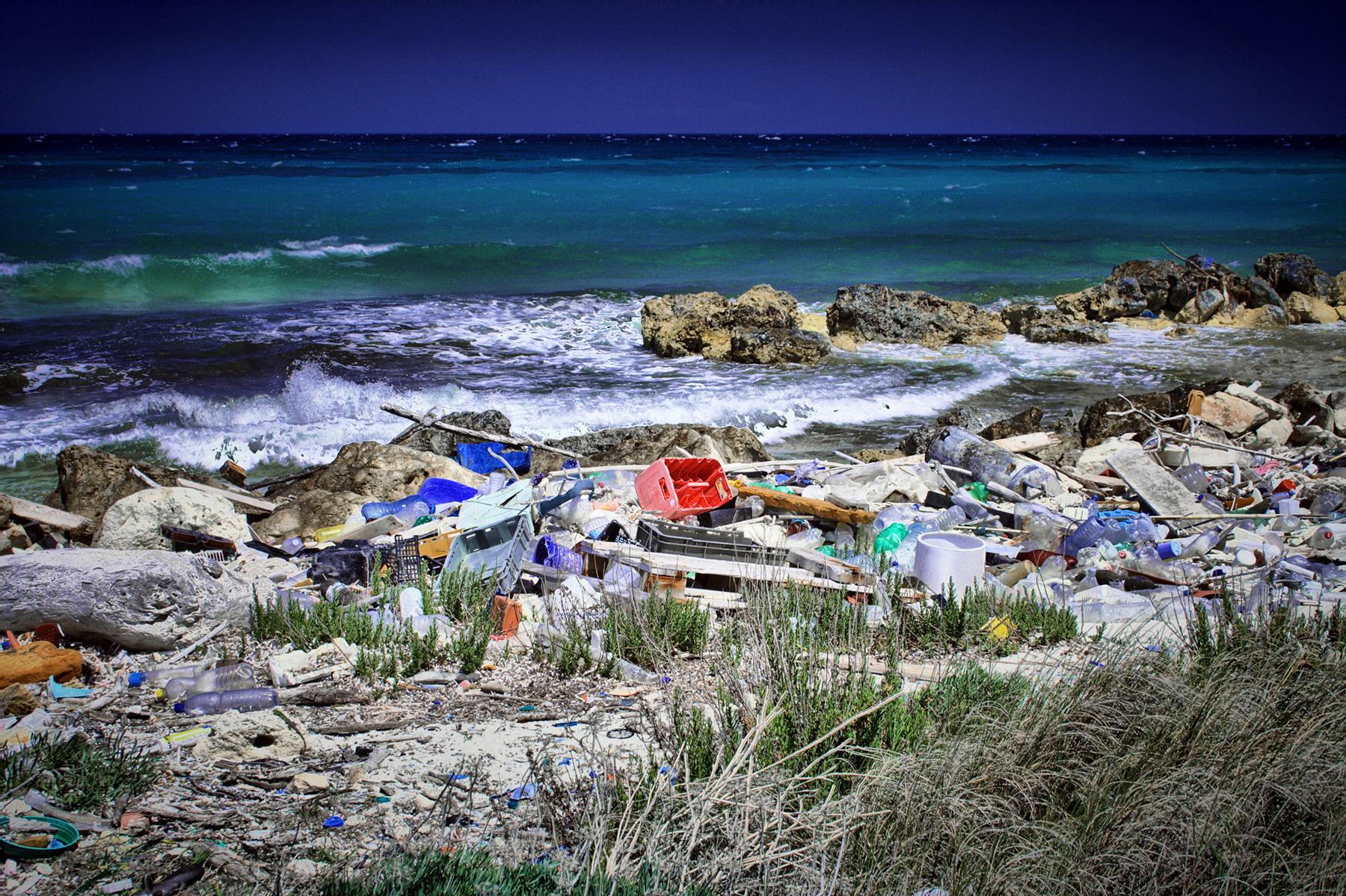 Загрязнение морей России