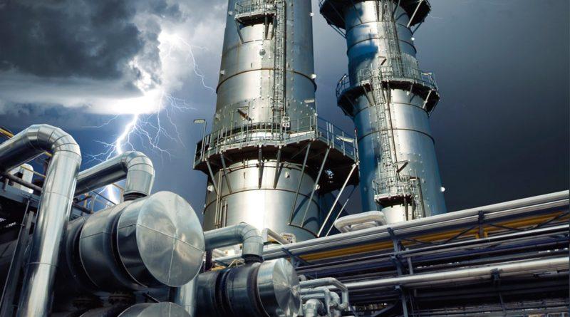 Газовая промышленность страдает от экологических проблем