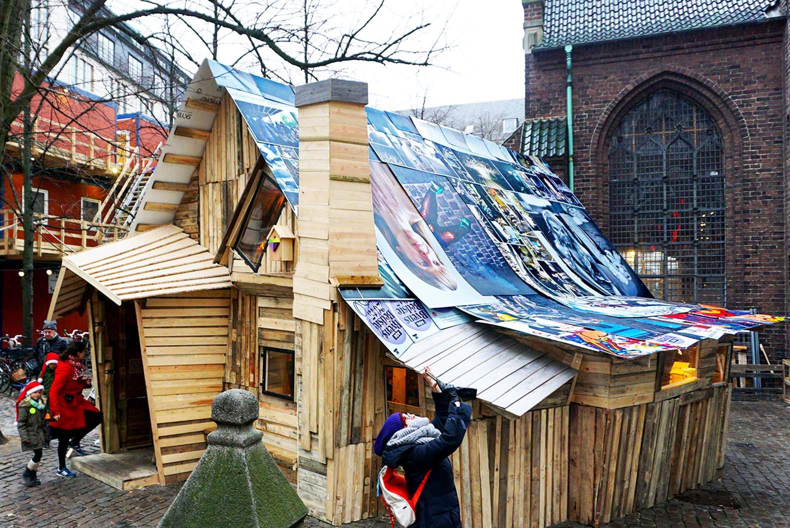 Возводим дом из строительных отходов